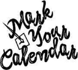 300x268 Mark Your Calendar Clip Art
