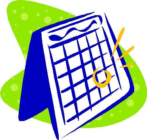 505x480 Mark Your Calendar Clipart 5