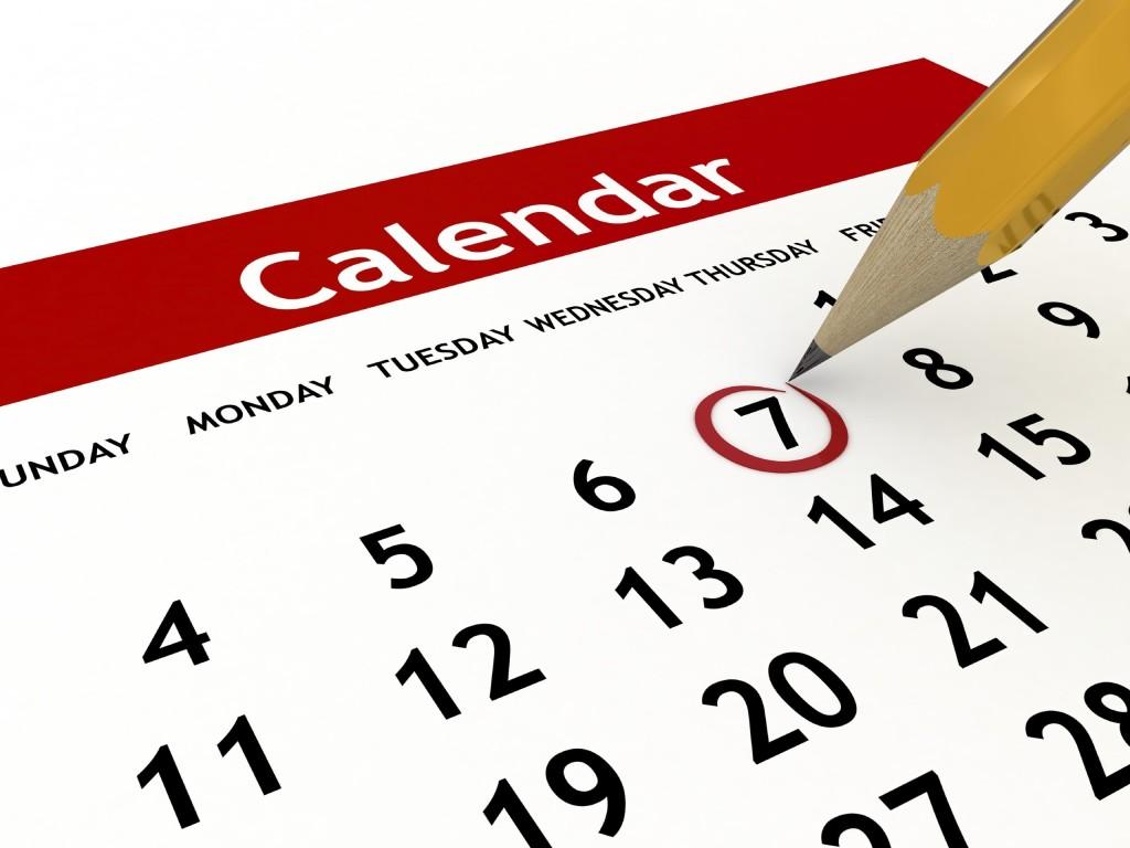 1024x768 Mark Your Calendar Clipart Clipart