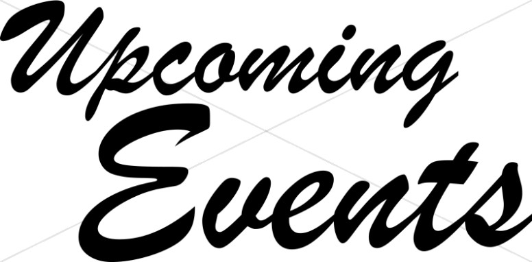 776x382 Upcoming Events Event Word Art