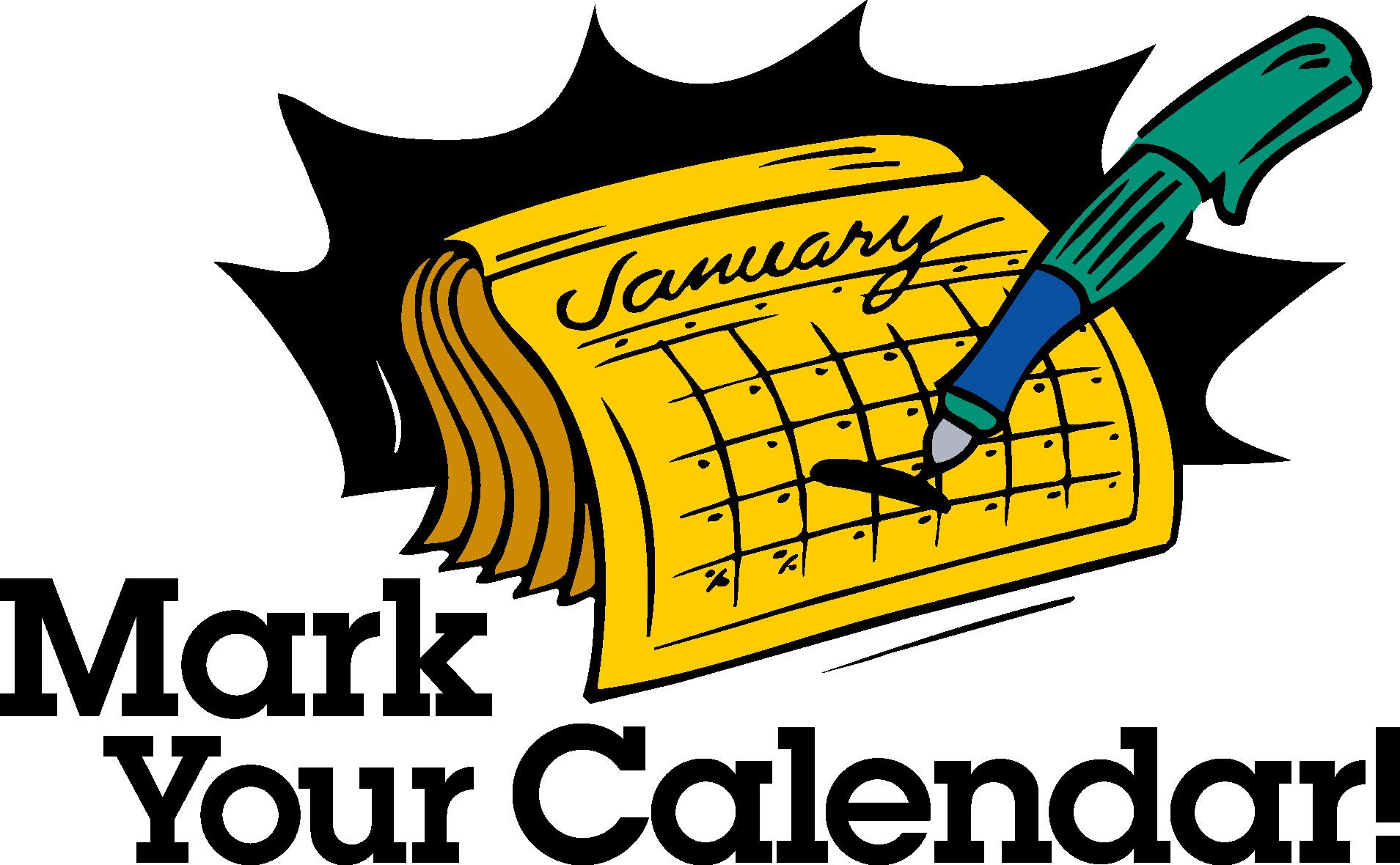 1909x1180 Yellow Mark Your Calendar Clipart
