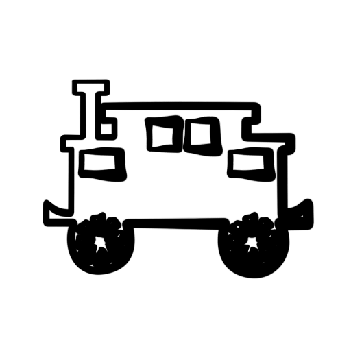 512x512 Train Clipart Black And White Clipart Panda