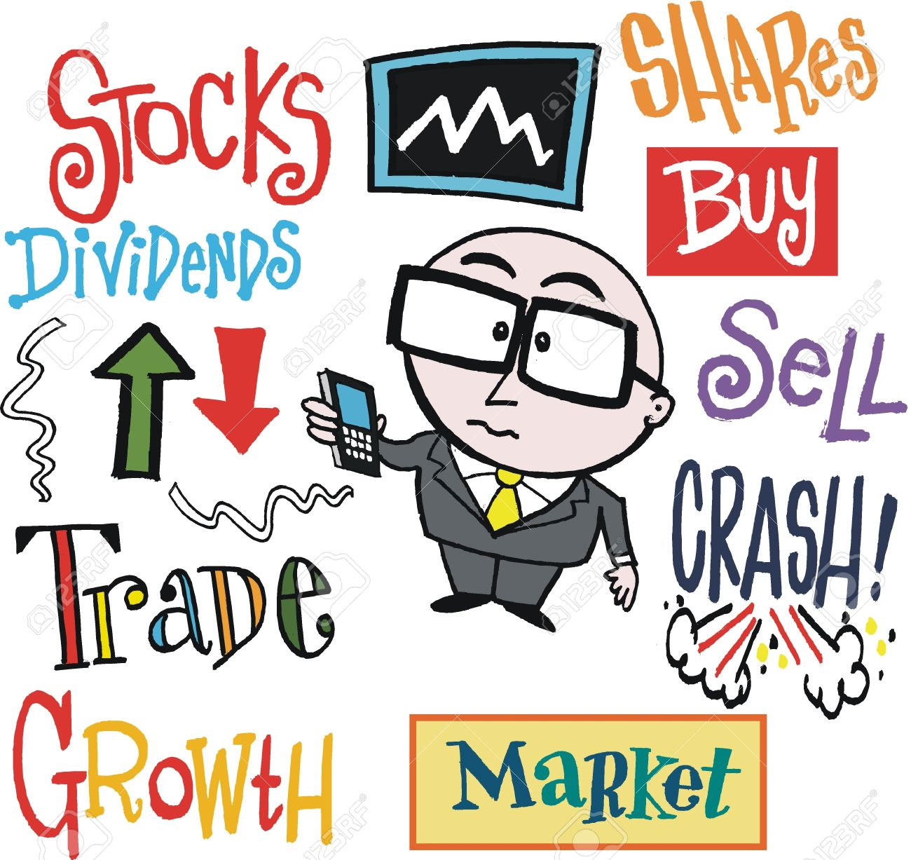 1300x1227 Clipart Stock Exchange
