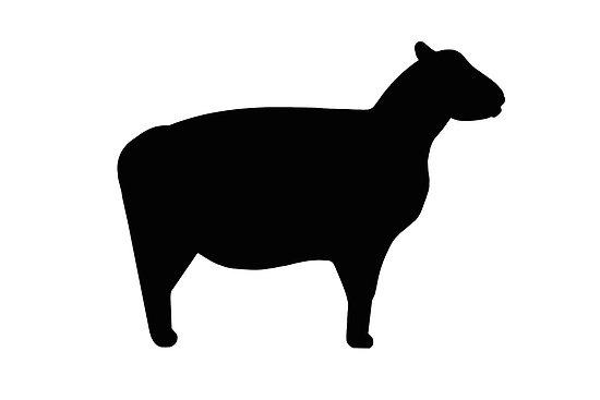 550x367 Lamb Silhouette Clip Art Clipart