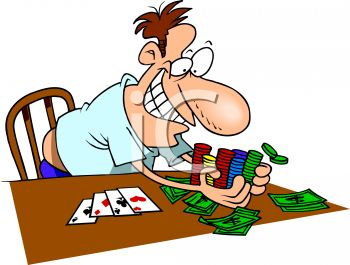 350x265 Poker Tournament Clipart