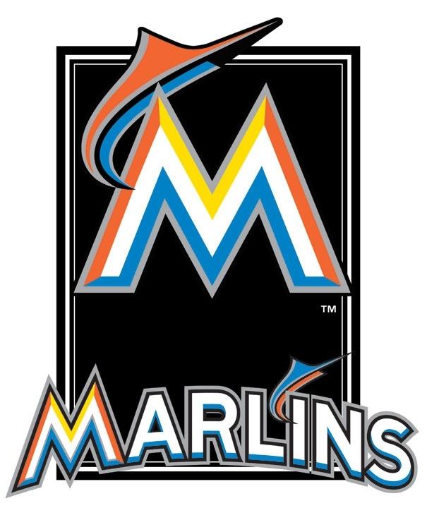 605x720 Miami Marlins Clipart Logo