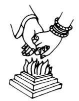 158x200 Hindu Wedding Symbols Clip Art For Free Download 101 Clip Art