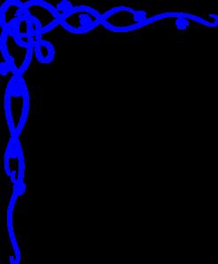 246x297 Blue Wedding Clip Art