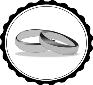 298x273 Wedding Rings Clip Art