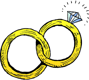 300x268 Marriage Clipart