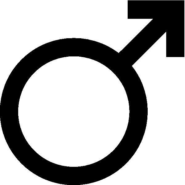 600x600 Mars Symbol Clip Art