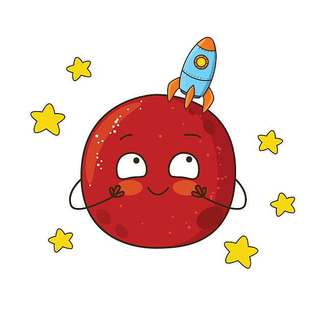 612x612 Mars Clipart For Kid