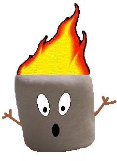 242x332 Roast Clipart Toasted Marshmallow