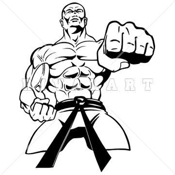 Martial Arts Logo Clipart