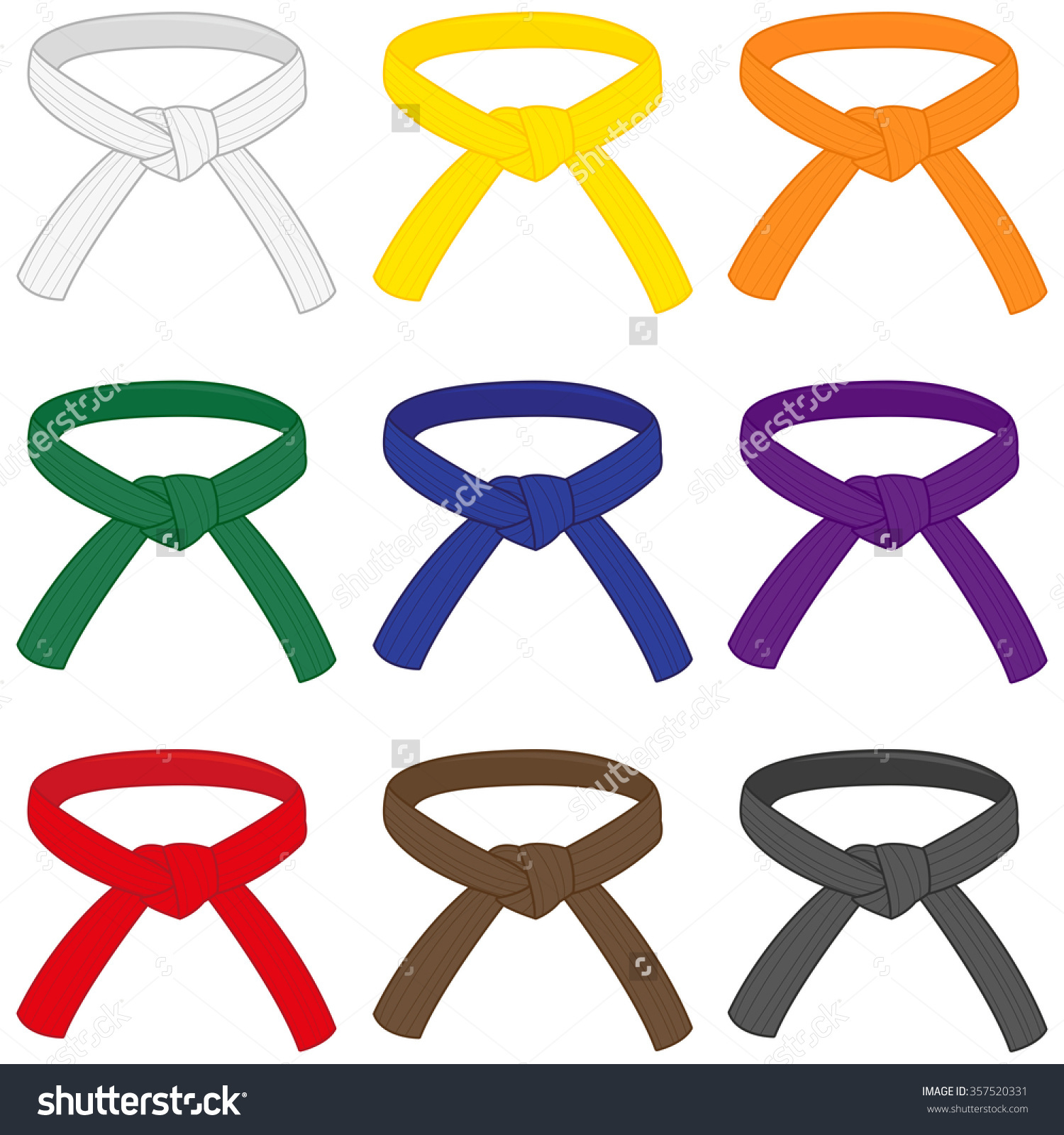 1500x1600 Karate Belt Clip Art Cliparts