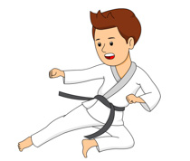 210x178 Martial Arts Clip Art
