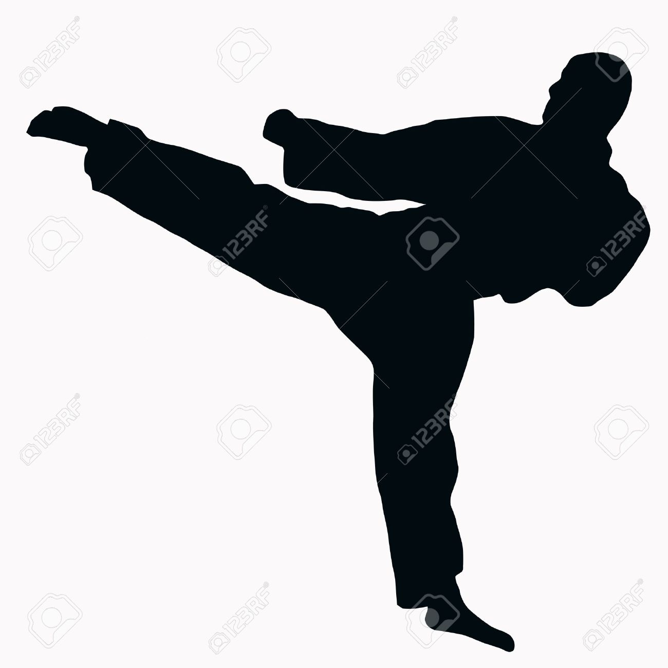 1300x1300 Martial Arts Clip Art Chadholtz