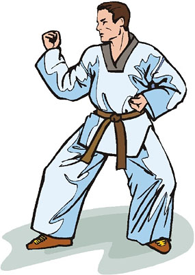 285x400 Martial Arts Instructor Clip Art Cliparts