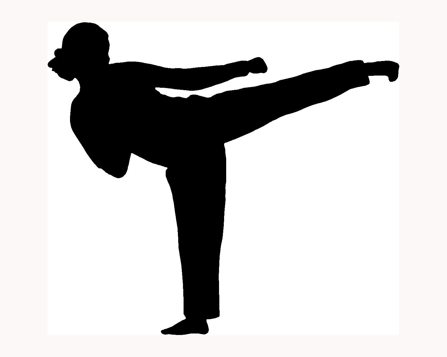 1500x1200 Martial Arts Clipart Female