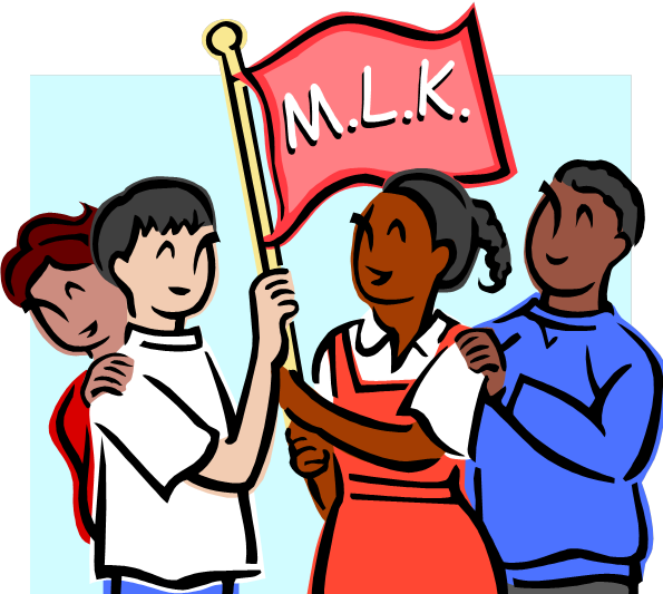 595x533 Martin Luther King Celebration Clip Art Cliparts