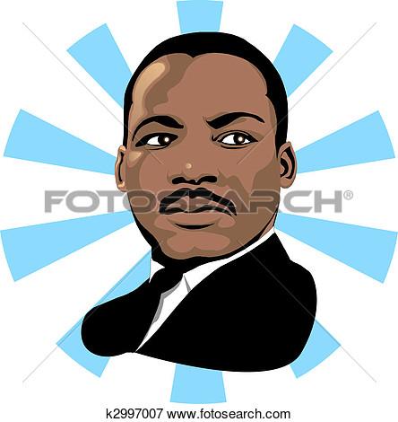 444x470 Martin Luther King Jr Clip Art