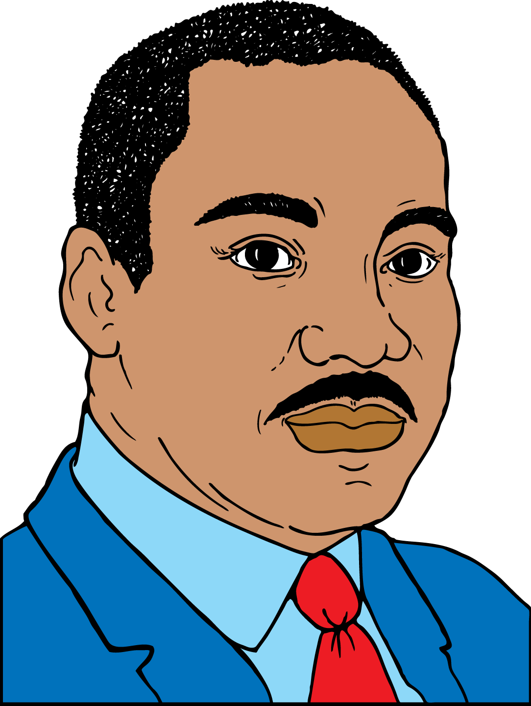 1084x1439 Martin Luther King Jr Clip Art