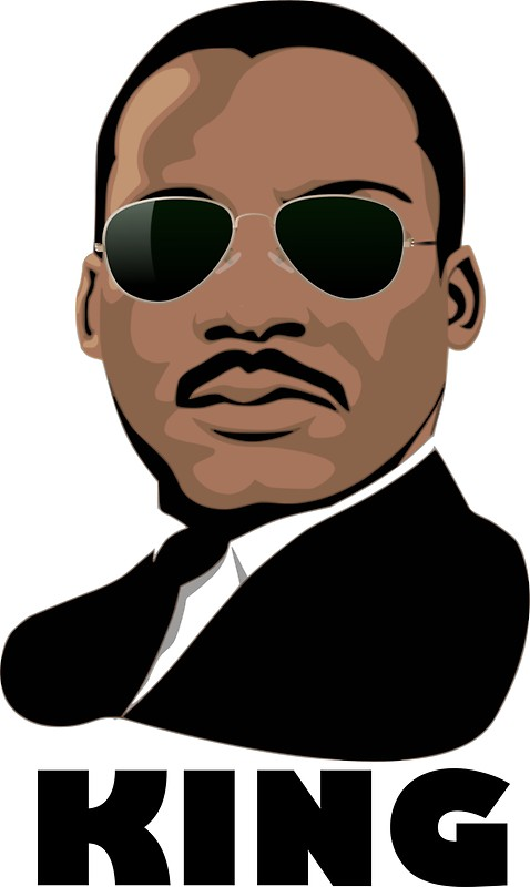 478x800 Rev. Dr. Martin Luther King, Jr. Stickers By Thegreatiam Redbubble