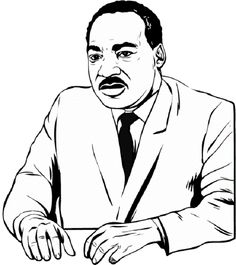 236x265 Martin Luther King Coloring Pages Printable Coloring Pages