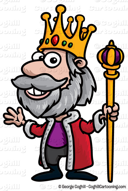 540x805 Free Clipart King