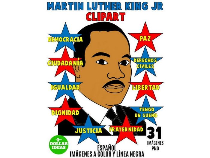 700x525 Martin Luther King Jr Clipart Spanish Martin Luther King