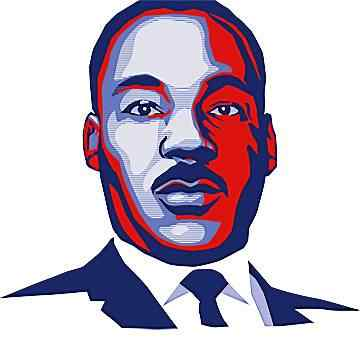 360x338 Martin Luther King Jr Clip Art Inderecami Drawing