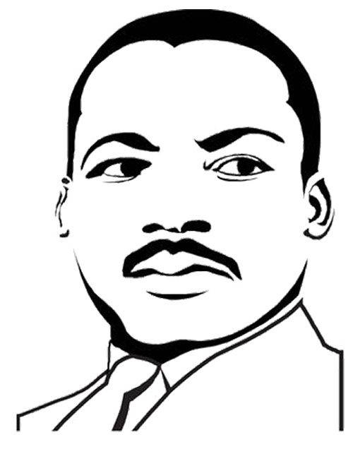 Martin Luther King Jr Clipart Free Download Best Martin