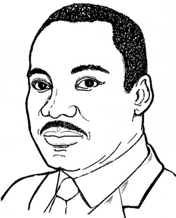 600x743 Martin Luther King Clipart Martin Luther King Jr Silhouette