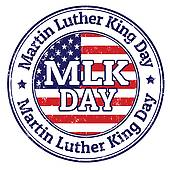 170x170 Clipart Of Martin Luther King Jr. Day Sign K5320890