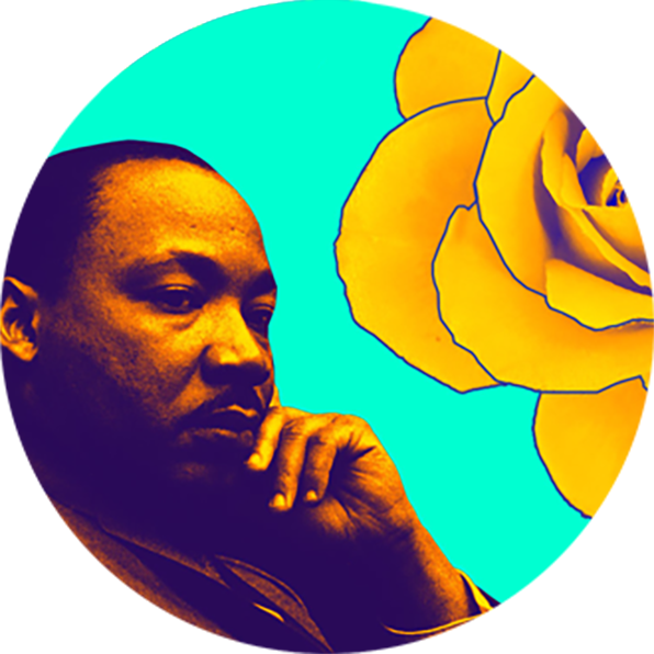 596x596 Dr. Martin Luther King Jr., Dmv, And My Folks Lean Into