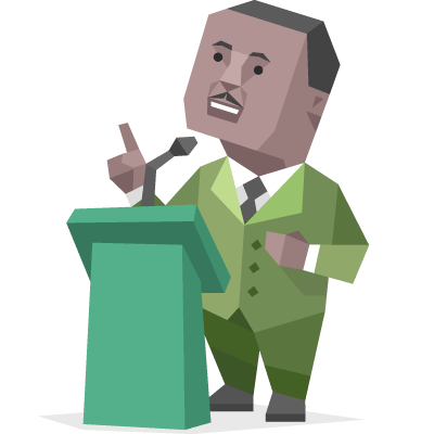 400x400 Free Mlk Day Clipart
