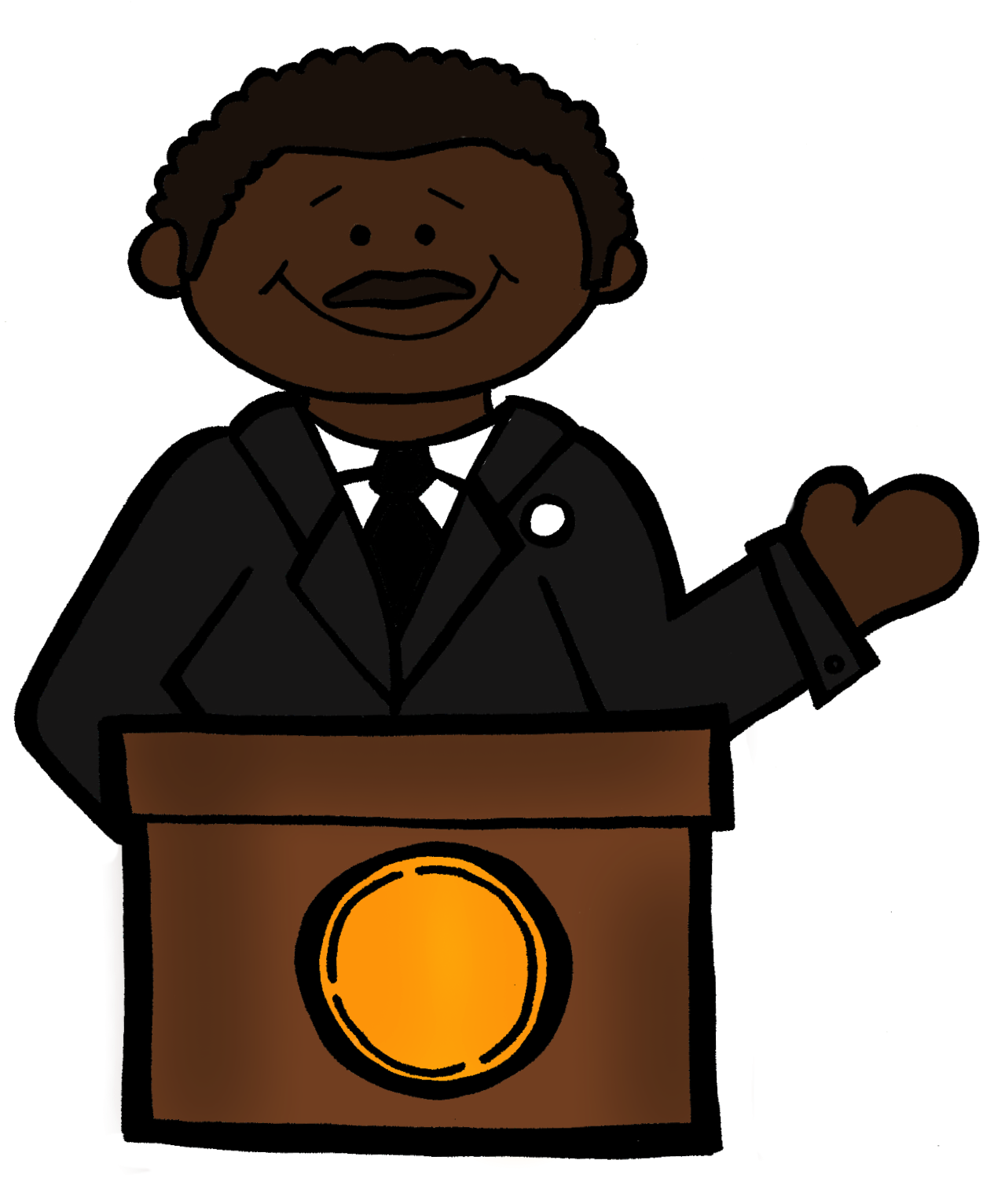1265x1533 Mlk Clipart Clipart Best, Martin Luther King Jr Clip Art