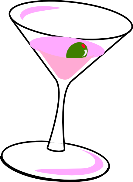 438x599 Cocktail Clipart