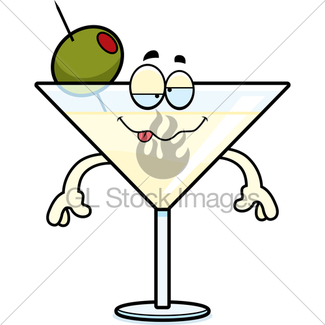 325x325 Punch Drunk Cartoon Gl Stock Images