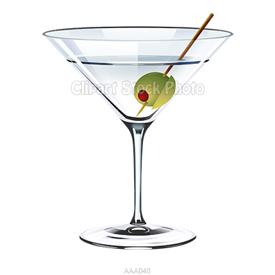 400x400 Alcohol Clipart Martini Glass