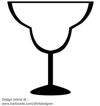 335x355 Margarita Glass Clip Art