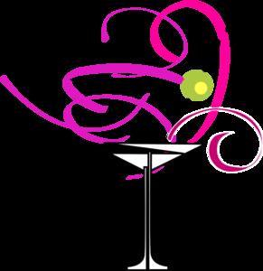 291x300 Martini Glass Clip Art