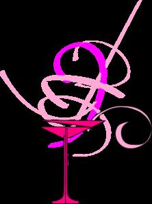 222x297 Pink Martini Clip Art