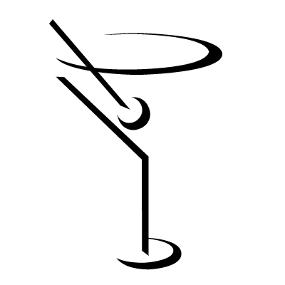 400x400 Vodka Clipart Martini Glass
