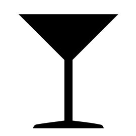 270x270 Martini Glass Stencil Free Stencil Gallery
