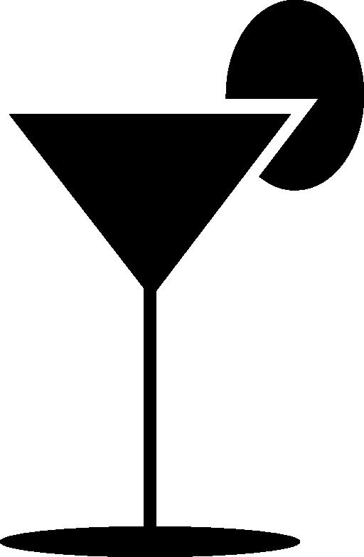 512x783 Clipart Martini Glass