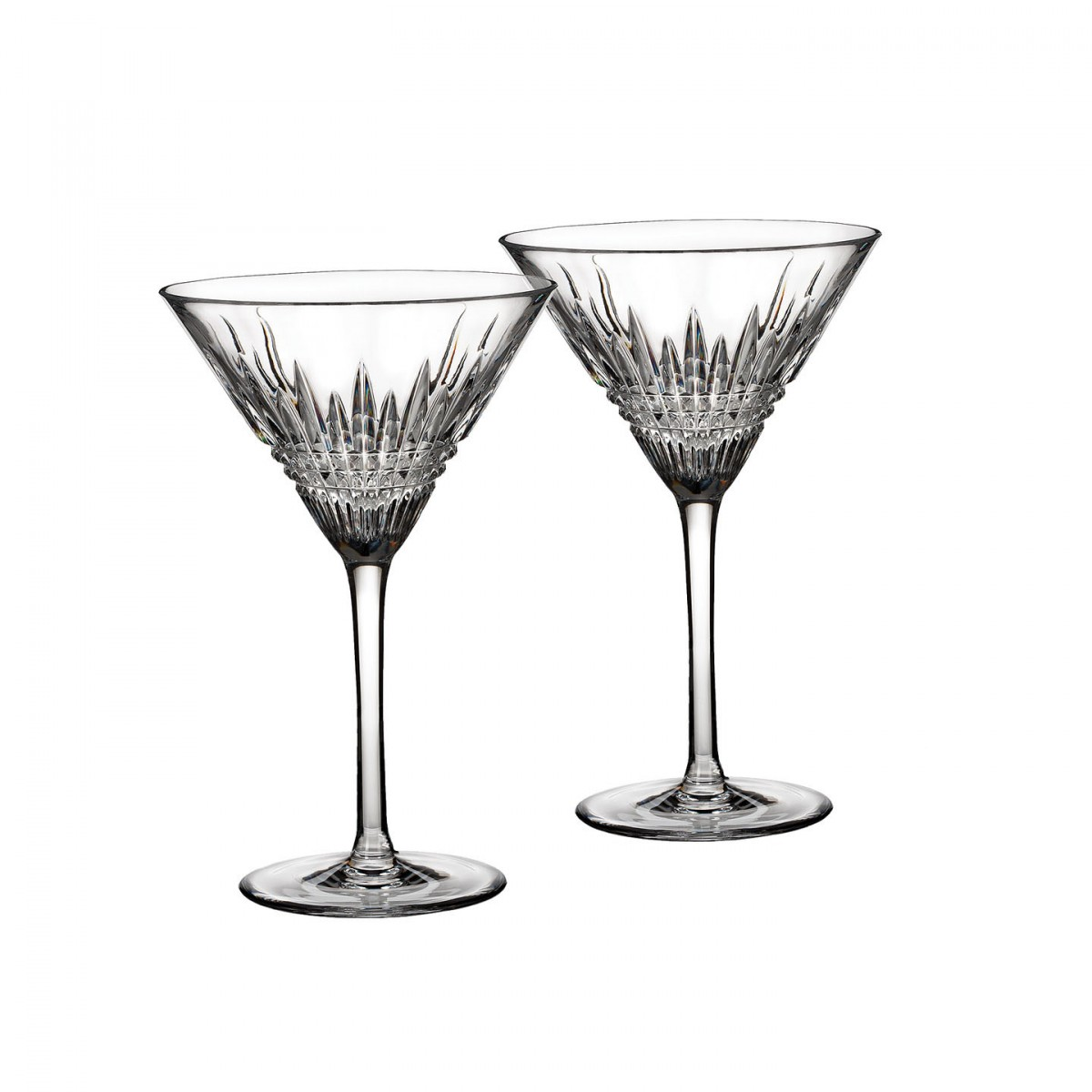 1200x1200 Lismore Diamond Martini, Pair