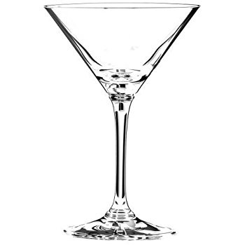 350x350 Riedel Vinum Leaded Crystal Martini Glass, Set Of 4