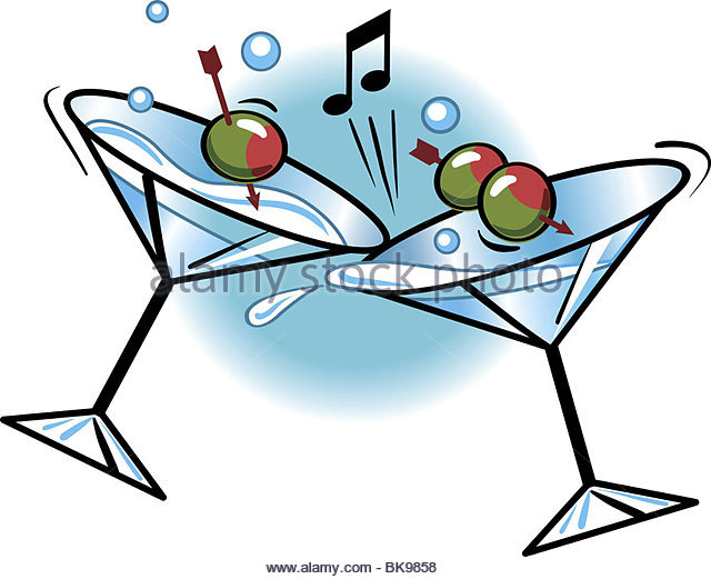 640x521 Martini Glasses Toasting Stock Photos Amp Martini Glasses Toasting