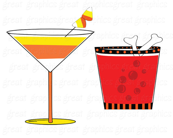 570x456 Halloween Clipart Halloween Party Printable Cocktail Drink